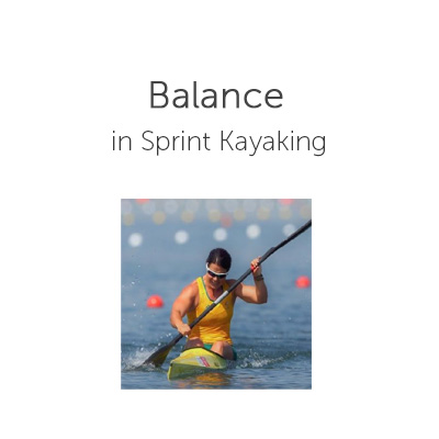 Balance in Sprint Kayaking