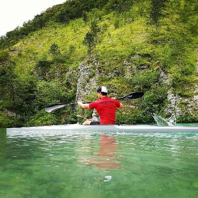 The Warm Up routine for Paddlers COVER